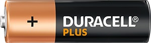Batteria Duracell Plus AA