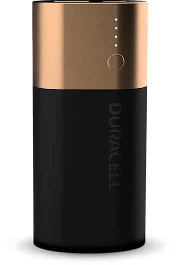 Power bank Duracell 6700 mAh: caricabatterie per smartphone
