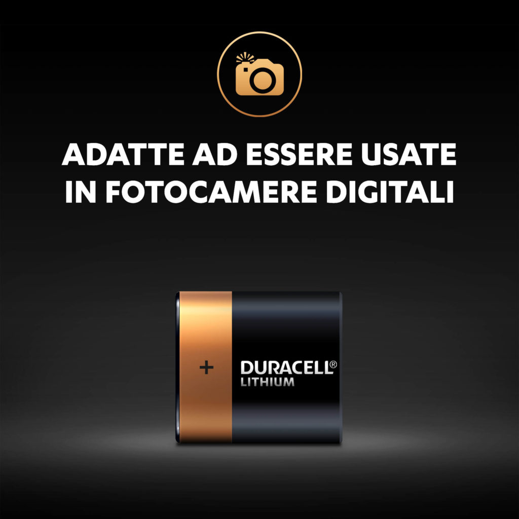 Adatto per l'uso in fotocamera digitale