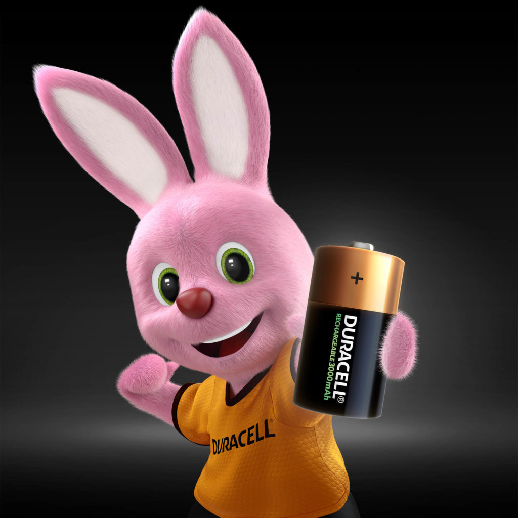 Bunny introducing C size Rechargeable battery 900mAh